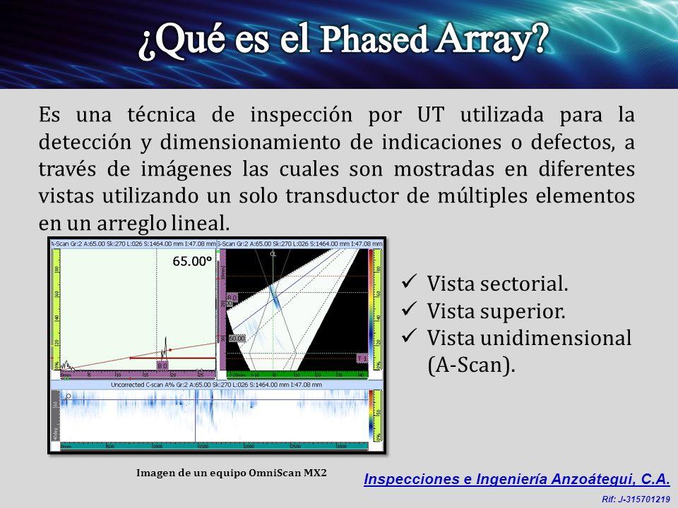 Gracias al Caso Código 181 del ASME B31.3, ahora está aprobada la inspección de soldaduras en plantas de proceso mediante técnicas de adquisición de datos computarizadas, como lo es el ultrasonido Phased Array y/o TOFD en lugar de la radiografía.