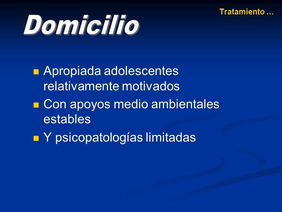 Requiere un enfoque multimodal donde se combinen diversas técnicas psicoterapéuticas y farmacológicas.