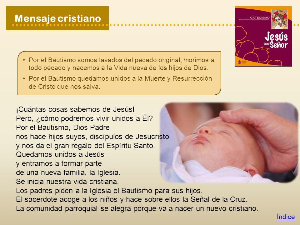 Busca en el apartado «Fórmulas de fe» del Catecismo (página 145) la respuesta a esta pregunta y escríbela a continuación: ¿Qué hace en nosotros el sacramento del Bautismo.