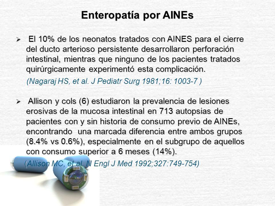 CE M 2 A en Enteropatía por AINEs: Casos Clínicos Jonnalagadda S, et al.