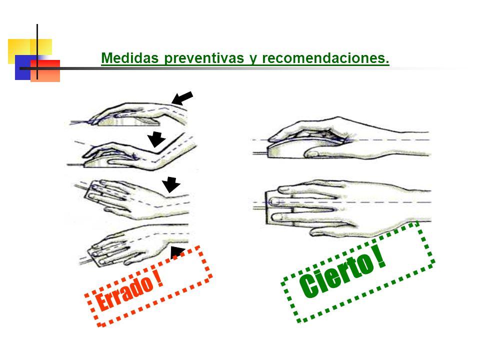 Medidas preventivas y recomendaciones. Pon tus manos frente a ti. Haz un puño, luego separa tus dedos. Abre y cierra tus manos con rapidez. Repite de