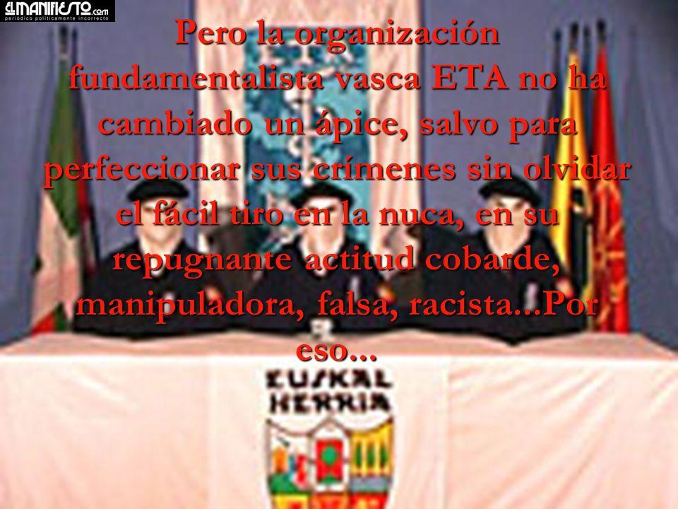 Han pasado 39 años, España con el esfuerzo de la mayoría de los españoles, y sin lugar a duda con el sacrificio y total dedicación de la Guardia Civil