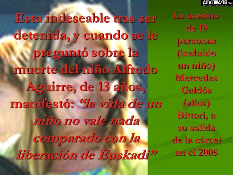 En este período también tuvimos que llorar a seis niños asesinados en Zaragoza...