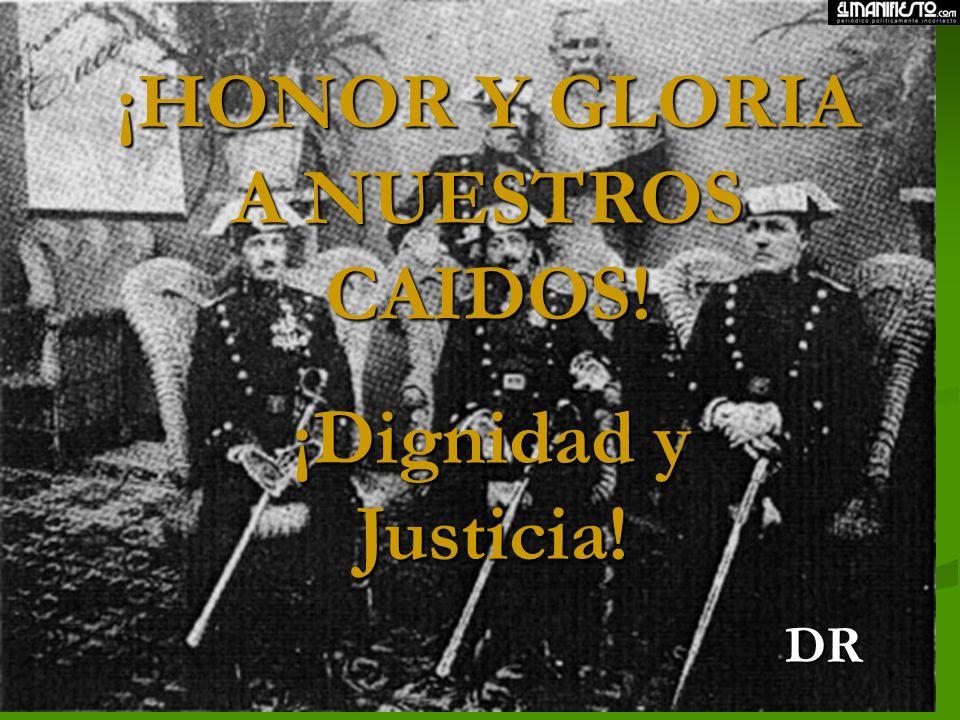 Pero sí debemos exigir ¡Justicia! por la dignidad de nuestros muertos