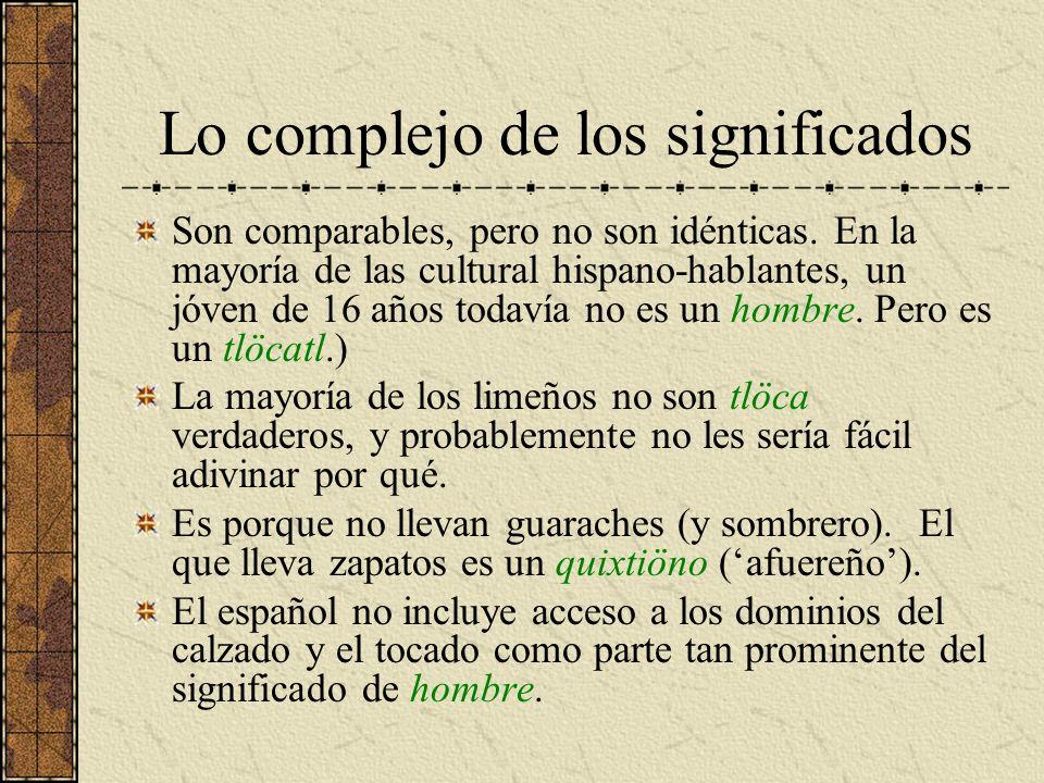 Lo complejo de los significados Son comparables, pero no son idénticas. En la mayoría de las cultural hispano-hablantes, un jóven de 16 años todavía n