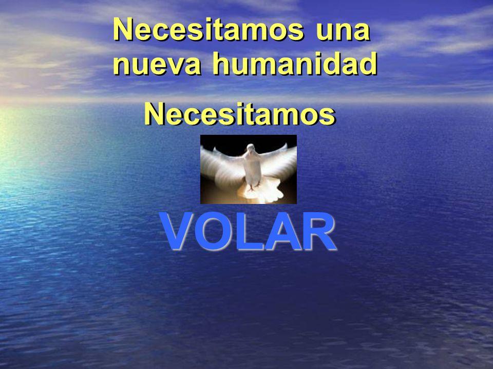 LA HUMANIDAD NO PODR Á VOLAR La humanidad posee dos alas: La humanidad posee dos alas: Hasta que las dos alas no estén igualmente desarrolladas Hasta