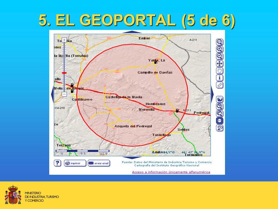 5. EL GEOPORTAL (5 de 6)