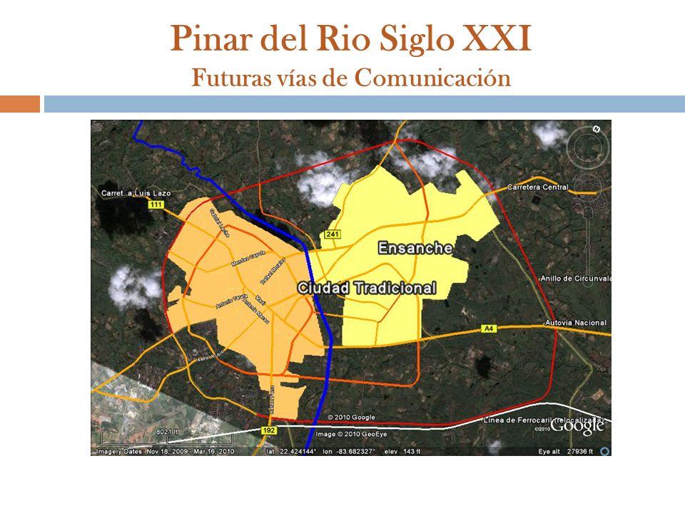 Pinar del Rio Siglo XXI Futuras vías de Comunicación
