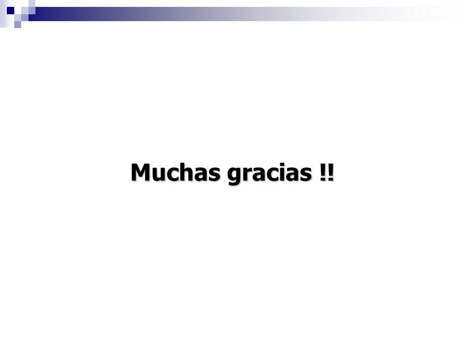 Muchas gracias !!