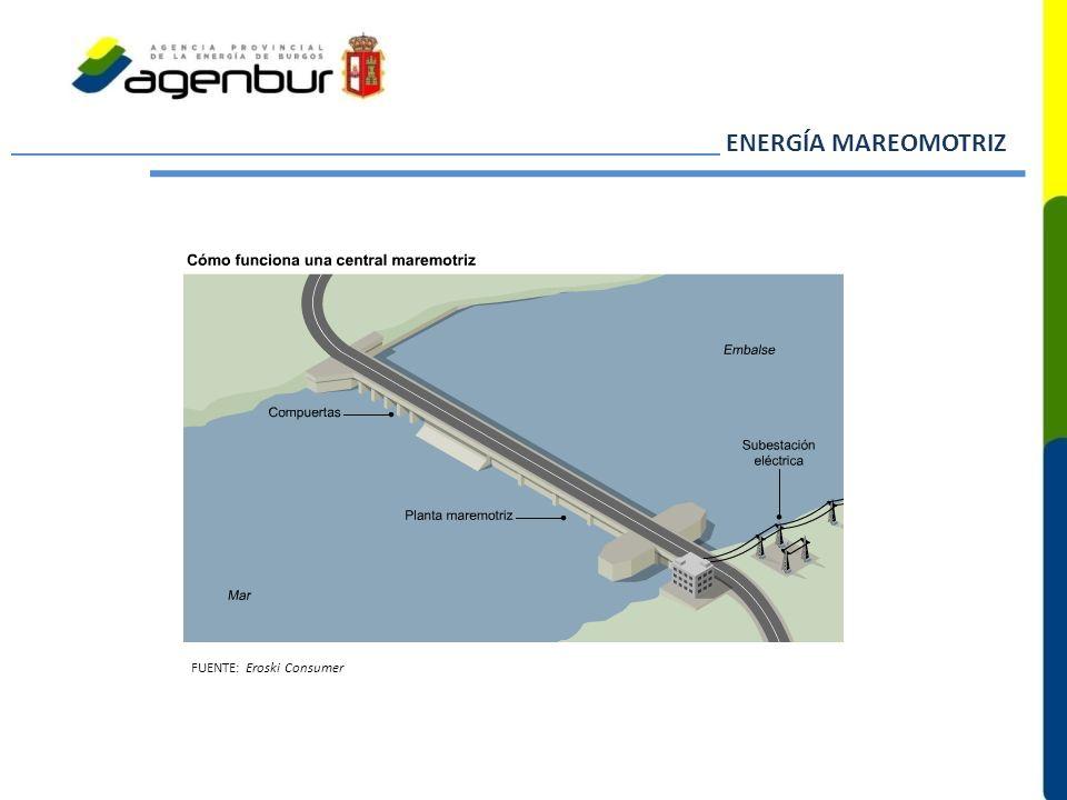 ENERGÍA MAREOMOTRIZ FUENTE: Eroski Consumer