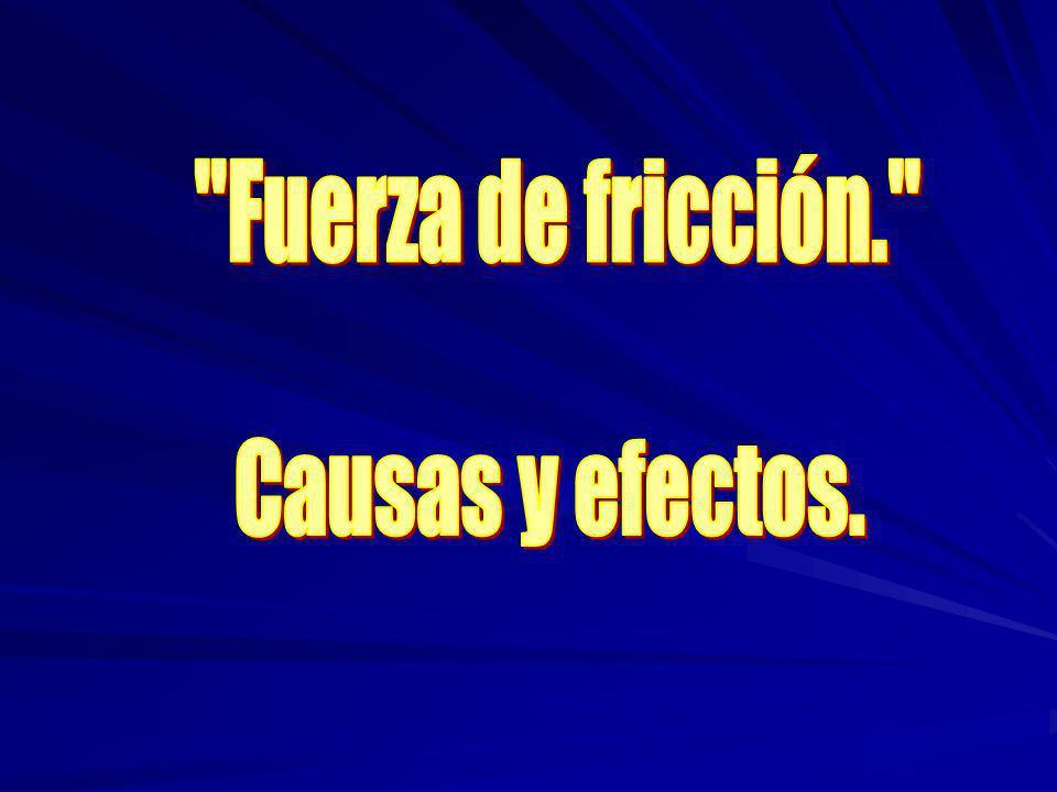 Índice.–Objetivo. –Definición de fricción. –Tipos de fricción: a) Fricción estática.