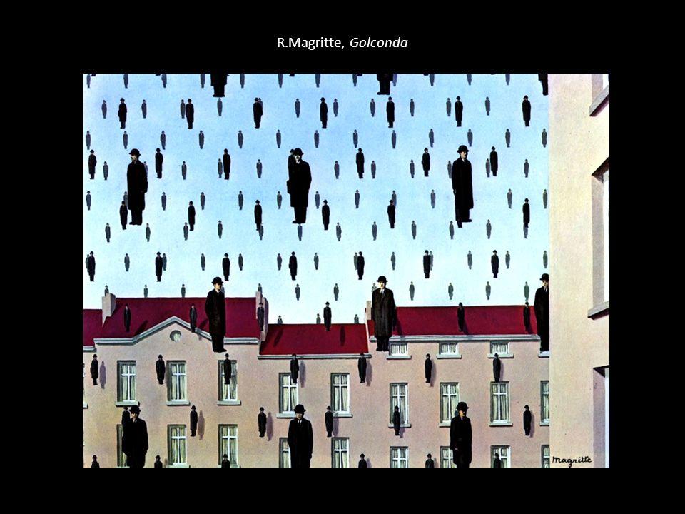 R.Magritte, Golconda