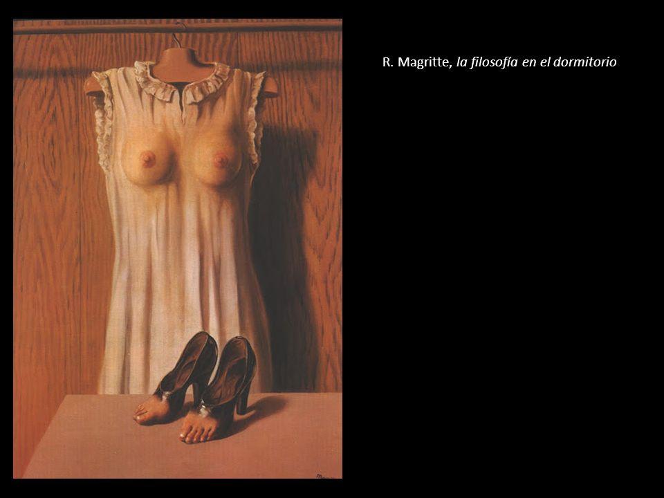 R. Magritte, la filosofía en el dormitorio