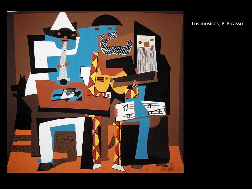 Los músicos, P. Picasso