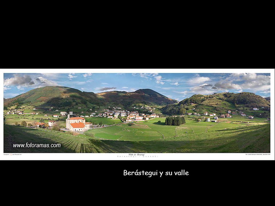 Peñas de Aya y Monte Jaizkibel... al fondo