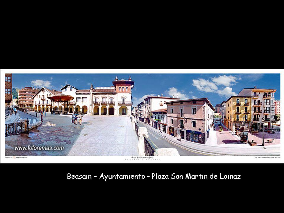 Beasain – Ayuntamiento – Plaza San Martin de Loinaz