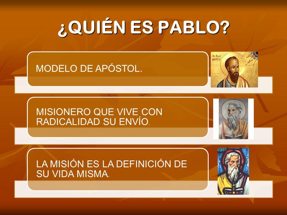 Pablo no predicaba como mensaje de Buena Nueva lo que había visto o sentido.