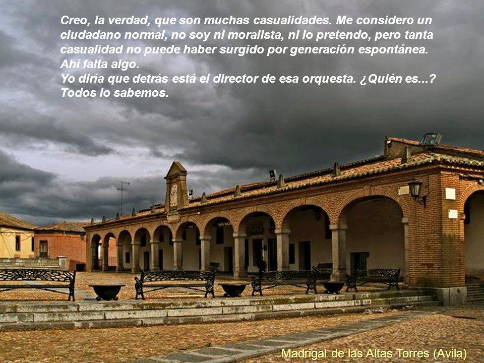 Lerma (Burgos) ¿Pero se puede creer, que es por casualidad, que desde la TV pública se esté fomentando el anticlericalismo, el aborto, y la destrucció