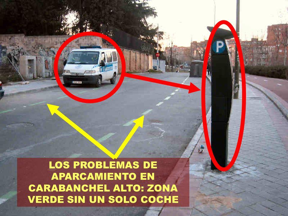 OTRO MÁS, UN COCHE DE POLICÍA EN CADA PARQUIMETRO OTRA CALLE SIN COCHES ¿QUÉ ROTACIÓN DE VEHÍCULOS ESPERAN LOGRAR AQUÍ?