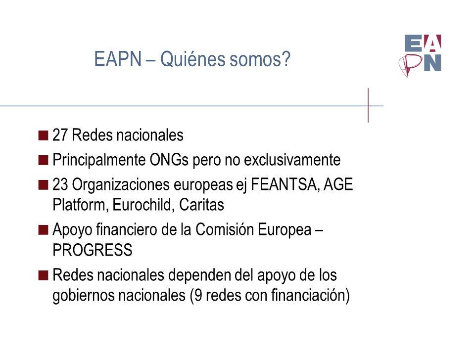 EAPN – Quiénes somos.