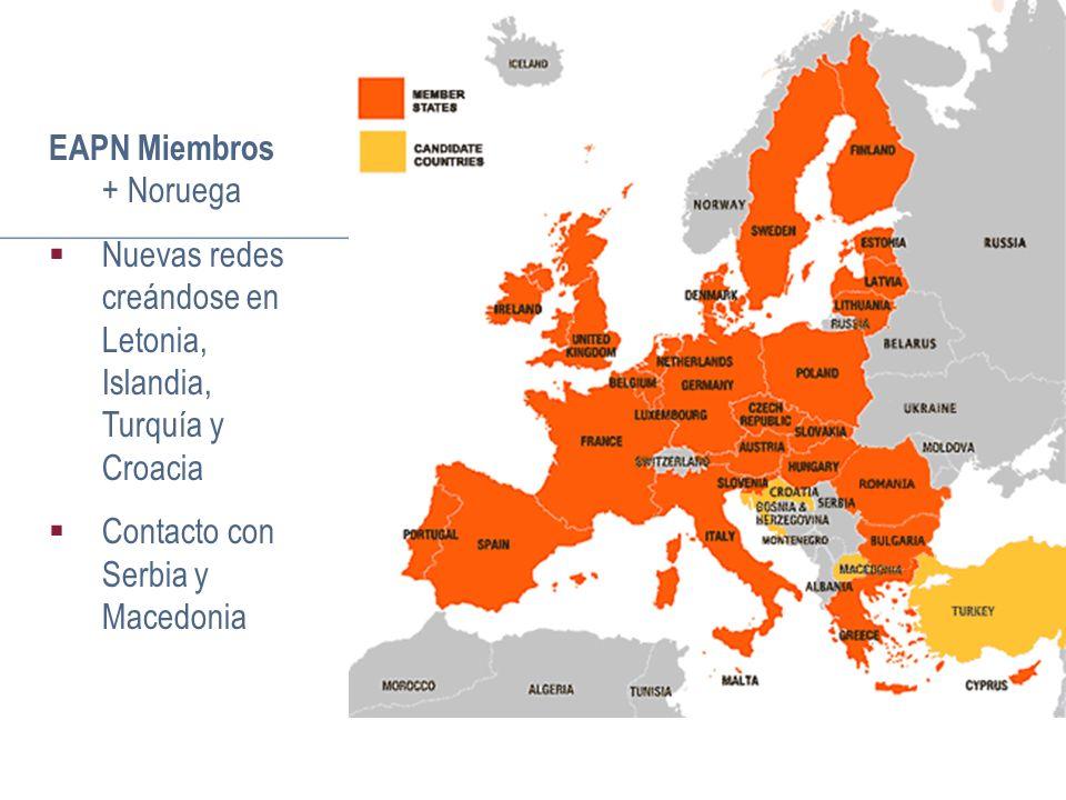 Redes Nacionales – El perfil y las características Quiénes son los miembros.