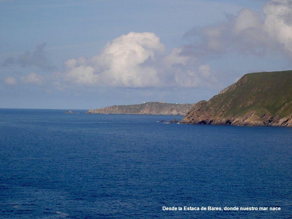 Desde la Estaca de Bares, donde nuestro mar nace