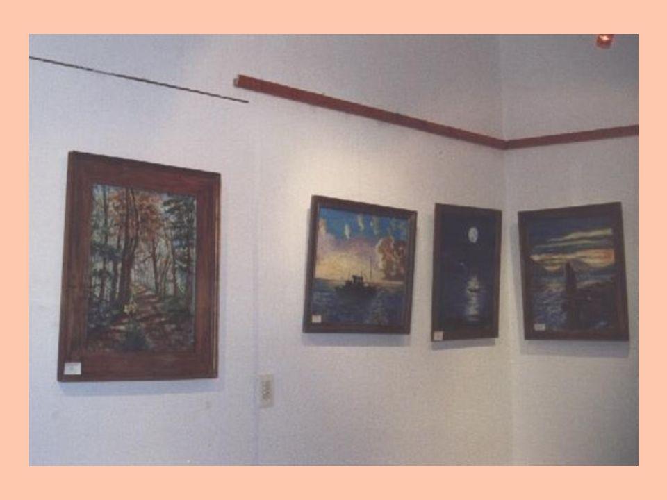 Muestras en técnicas : óleo y mixtas Año 2008: muestra colectiva en sala de exposiciones Saapro (Soc.Arg.