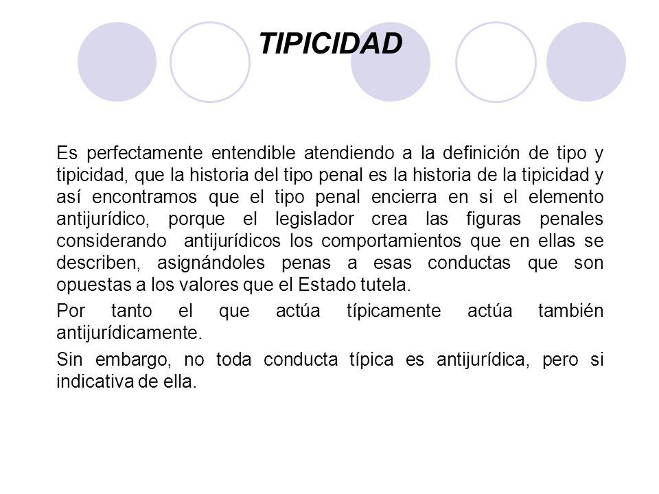 CLASIFICACION DE LOS TIPOS PENALES Por su composición Normales.- Es una descripción objetiva de la conducta (lenocinio art.
