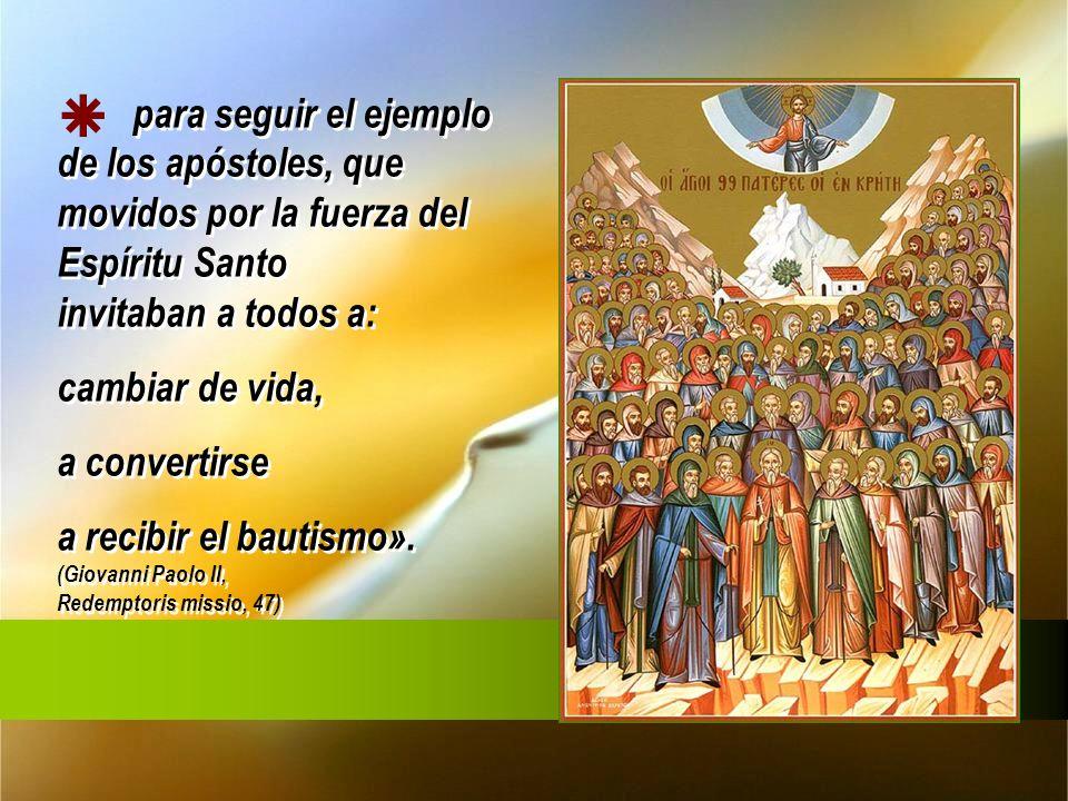 Este mandato de Jesús encuentra fundamento y justificación en su amor infinito para salvar a todos los hombres,