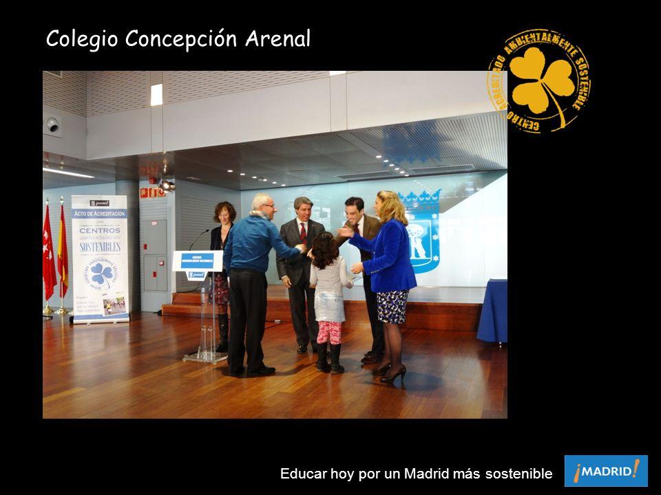 Colegio Concepción Arenal Educar hoy por un Madrid más sostenible