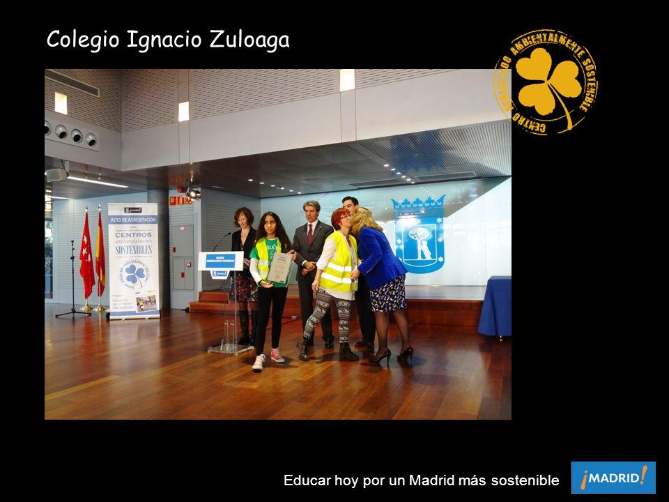 Colegio Ignacio Zuloaga Educar hoy por un Madrid más sostenible