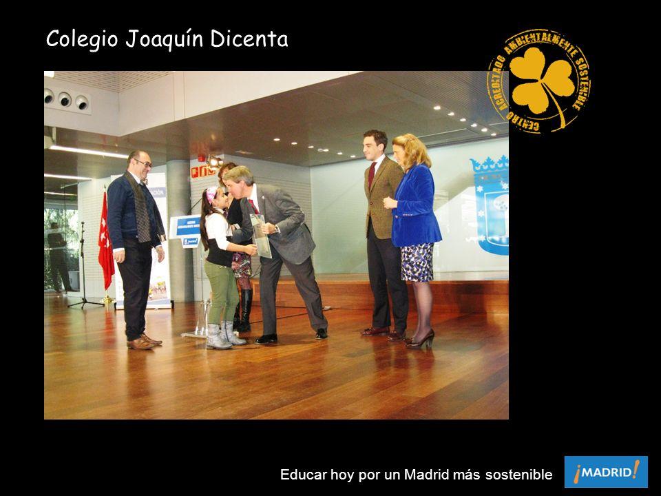 Colegio Joaquín Dicenta Educar hoy por un Madrid más sostenible