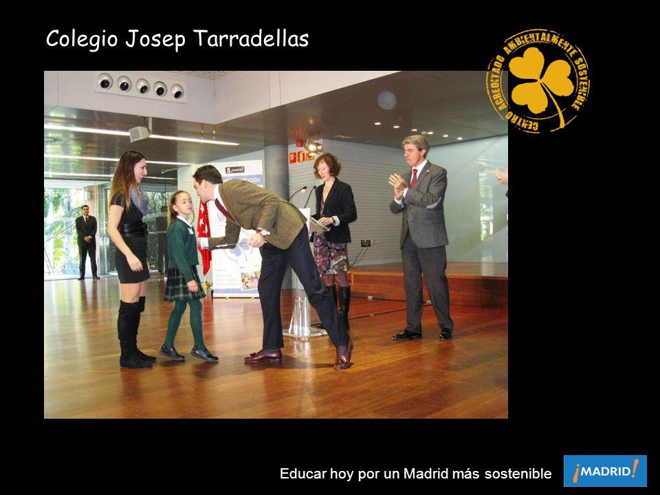 Colegio Josep Tarradellas Educar hoy por un Madrid más sostenible