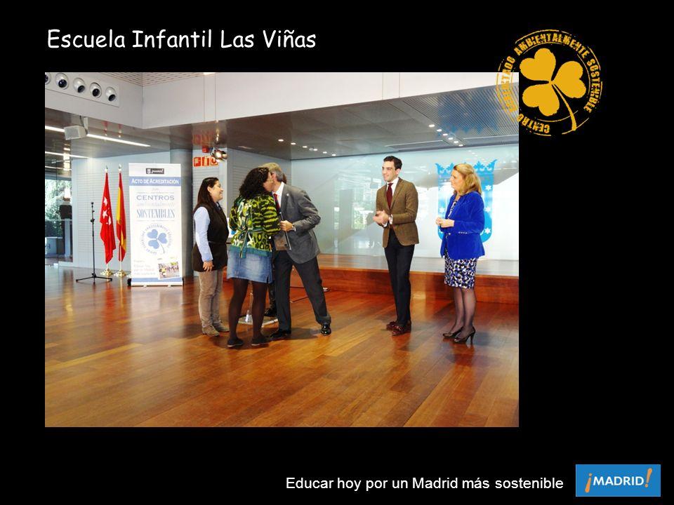Escuela Infantil Las Viñas Educar hoy por un Madrid más sostenible