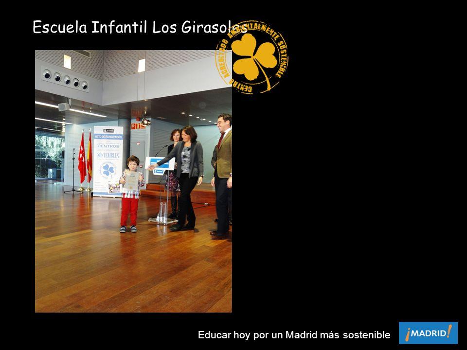 Escuela Infantil Los Girasoles Educar hoy por un Madrid más sostenible
