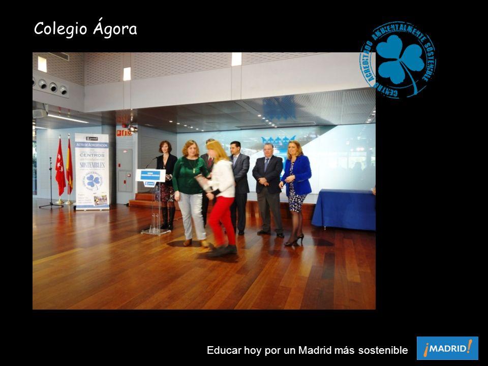 Colegio Ágora Educar hoy por un Madrid más sostenible