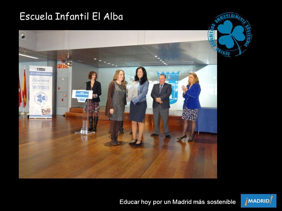 Escuela Infantil El Alba Educar hoy por un Madrid más sostenible