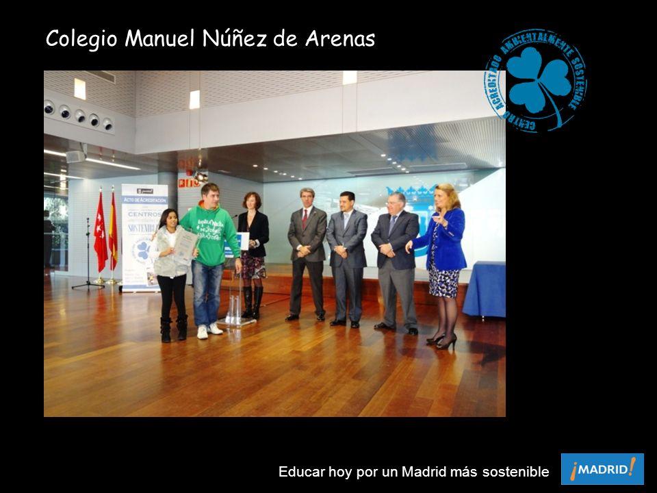 Colegio Manuel Núñez de Arenas Educar hoy por un Madrid más sostenible