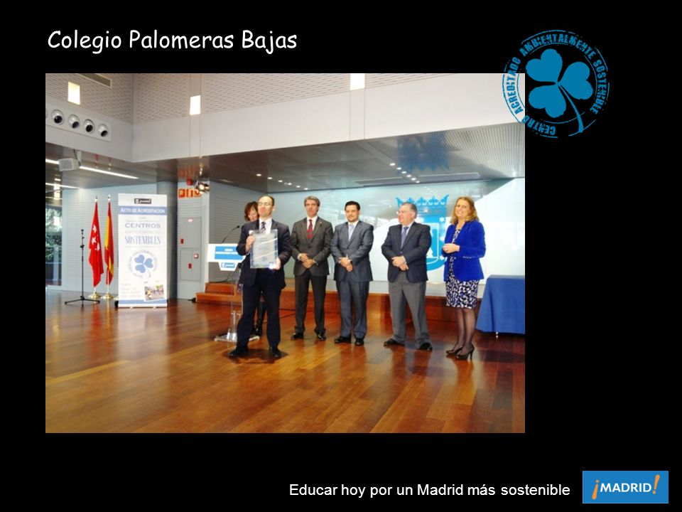 Colegio Palomeras Bajas Educar hoy por un Madrid más sostenible