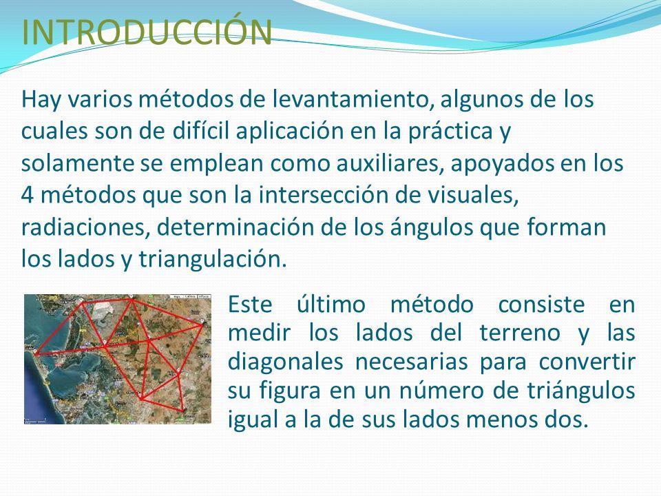 Triangulación topográfica integrantes: nelsy Pérez Wilson cabrera servicio nacional de aprendizaje
