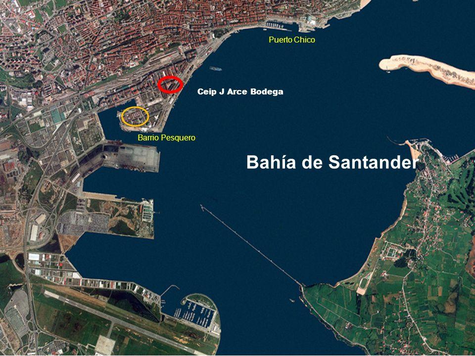Bahía de Santander Ceip J Arce Bodega Barrio Pesquero Puerto Chico