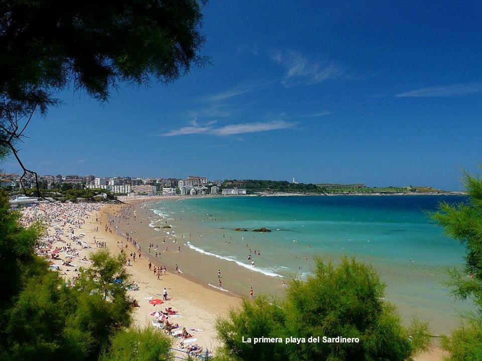 La primera playa del Sardinero
