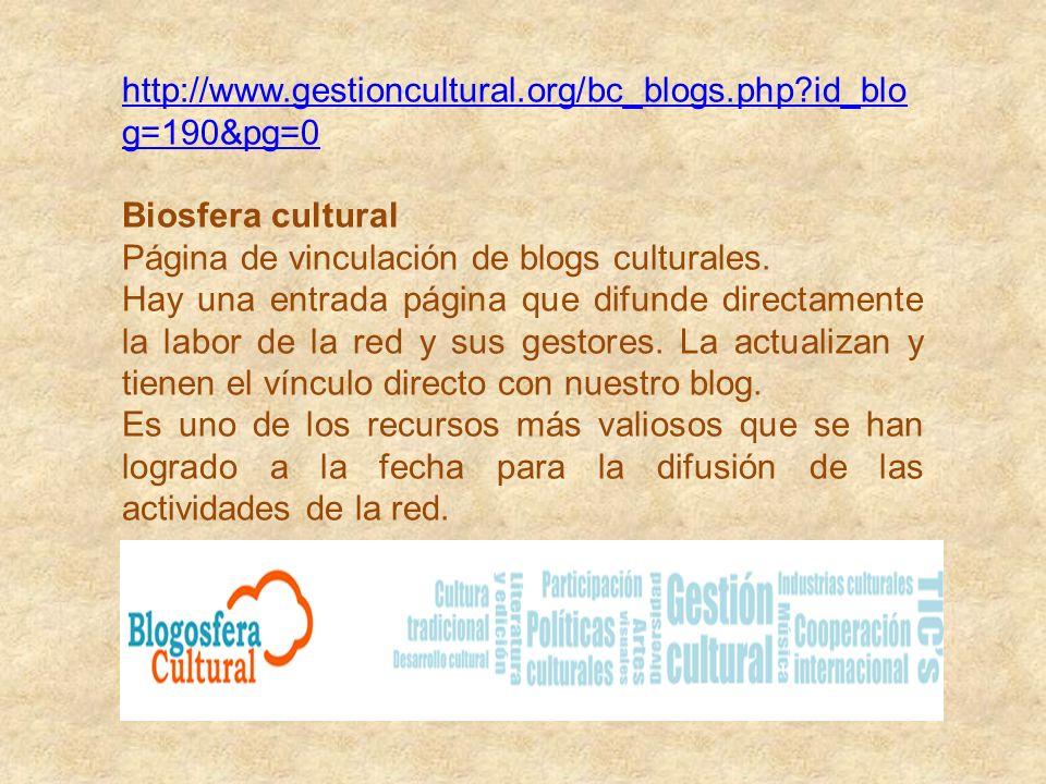 http://centrosenred.blogspot.com/2011/05/desenredand o-el-trabajo-en-red.html Centros en Red Centros Culturales de América y Europa. Sitio de vinculac