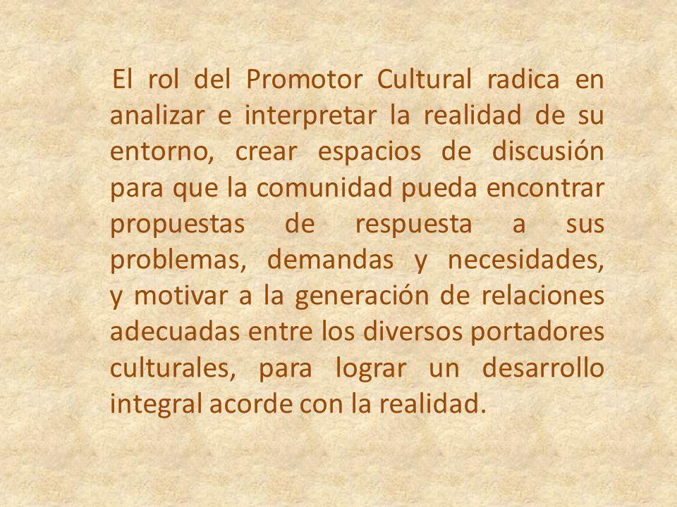 Las Redes constituyen una estrategia para la convocatoria de los actores que impulsan el desarrollo cultural, centrada en la participación ciudadana,