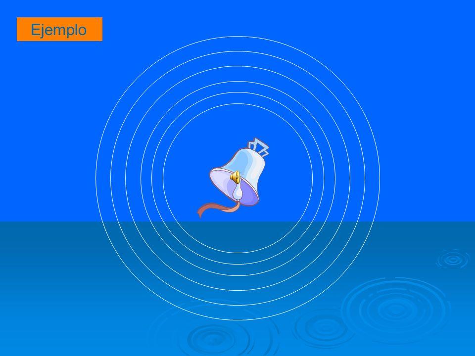 Según la dirección de propagación de las partículas, en relación a la velocidad de la onda.