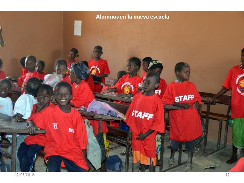 12/03/201216 Alumnos en la nueva escuela