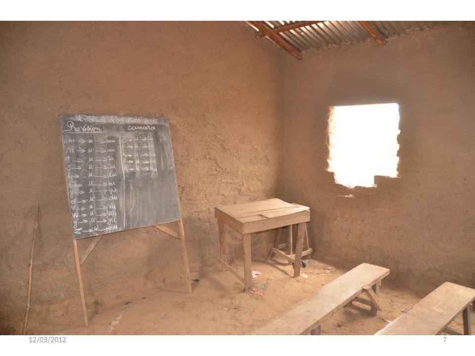 12/03/20126 Escuela Actual en Djélibani - Kovada