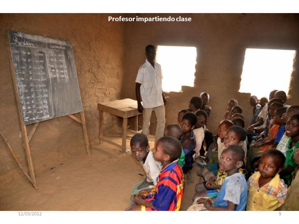 12/03/20129 Profesor impartiendo clase