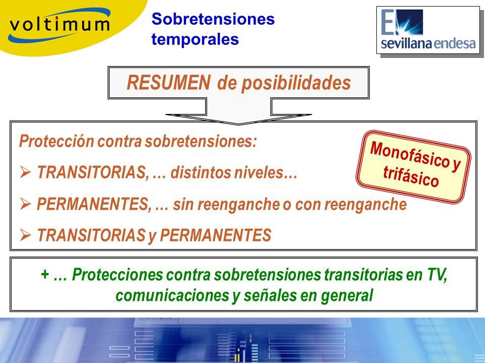 + … Protecciones contra sobretensiones transitorias en TV, comunicaciones y señales en general Protección contra sobretensiones: TRANSITORIAS, … disti
