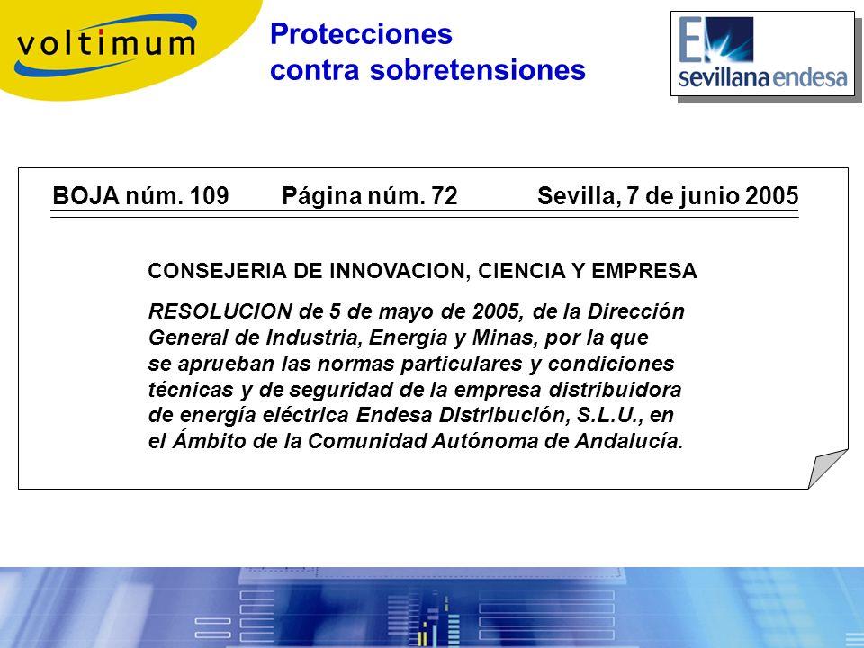 BOJA núm. 109 Página núm. 72 Sevilla, 7 de junio 2005 CONSEJERIA DE INNOVACION, CIENCIA Y EMPRESA RESOLUCION de 5 de mayo de 2005, de la Dirección Gen